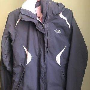 North face, Hyvent ski jacket with removable liner